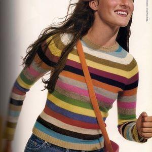 Gap 1999 Crazy Stripe Sweater